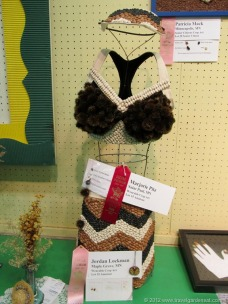 Wearable crop art at the MN State Fair