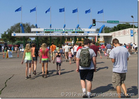 Entrance to the Minnesota State Fair