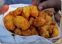 The Original Deep-Fried Cheese Curds at the MN State Fair