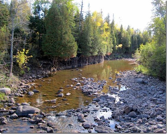 Gooseberry River ~ Fifth Falls Trail (Minnesota)