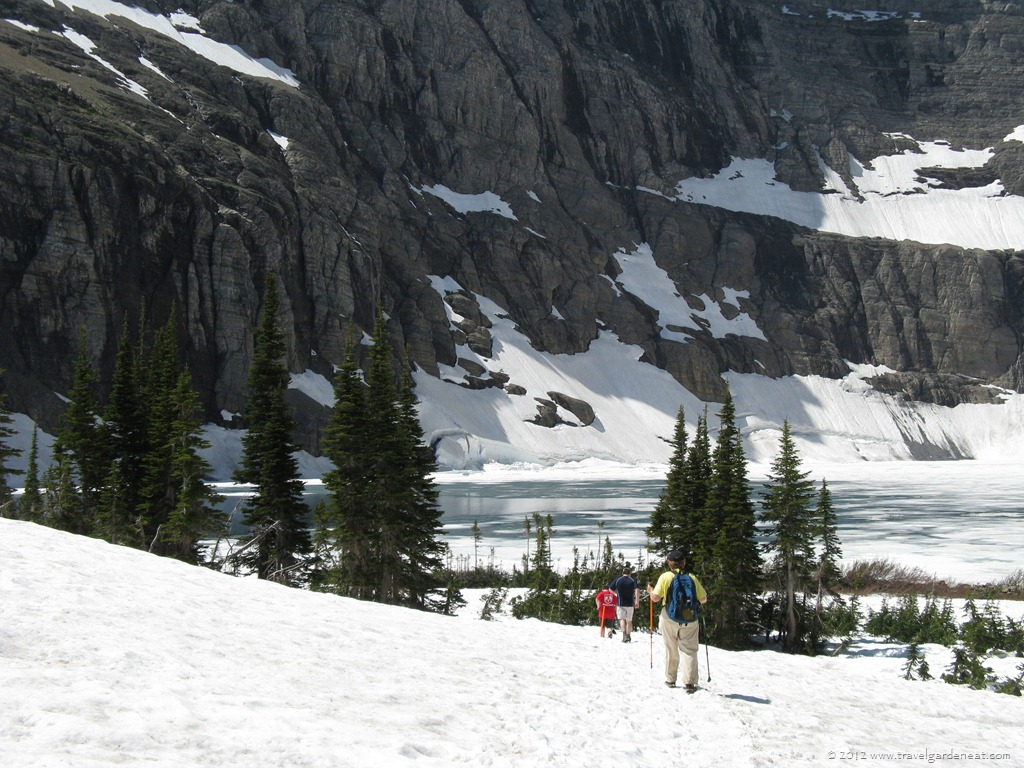 Iceberg Lake Trail ~ Glacier National Park – Travel  Garden