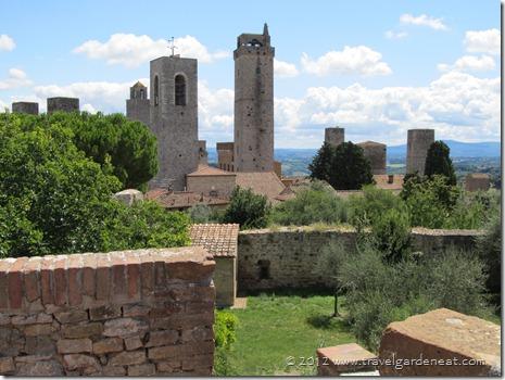 San Gimignano from La Rocca