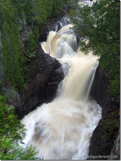 Devil's Kettle Falls ~ Judge C.R. Magney State Park (Minnesota)