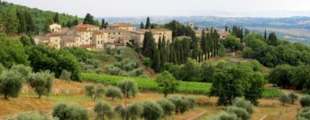 The Chianti countryside in Tuscany (photo credit: Kat B./travelgardeneat.com)