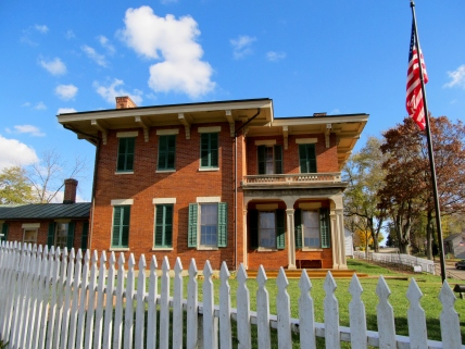 The Ulysses S. Grant home in Galena, Illinois