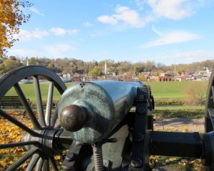 One of the cannons in Grant Park ~ Galena, Illinois