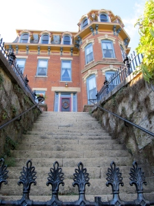 One of the many historic homes in Galena, Illinois