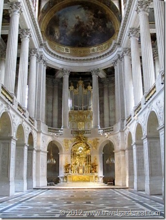 The Royal Chapel at Versailles
