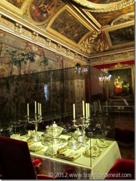 The antechamber of the Grand Couvert ~ Palace of Versailles
