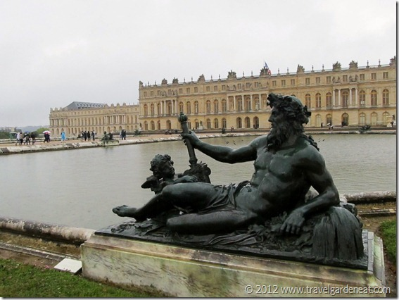 One of the ponds of the Water Parterre at Versailles