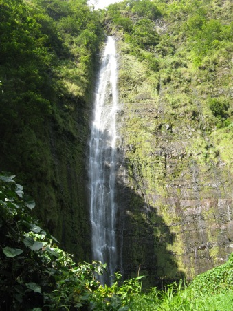 Waimoku Falls at the end of the Pipiwai Trail ~ Maui