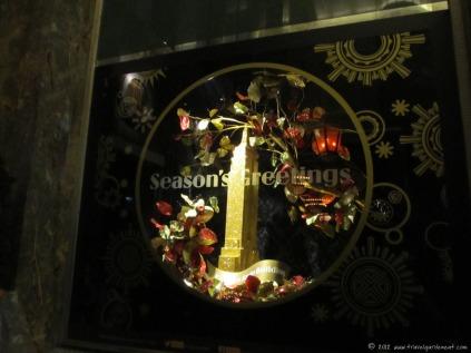 Window displays in the ESB lobby
