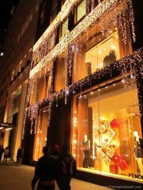 Fendi's 5th Avenue store