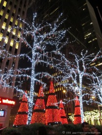 NYC holiday lights