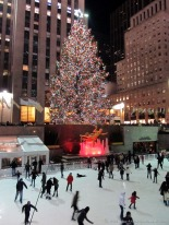 Skating rink at Rockefeller Center