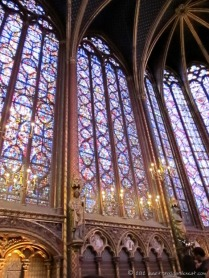 Endless stained glass.