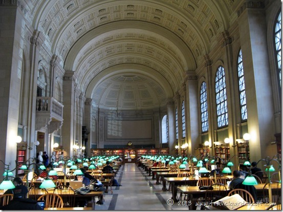 Boston Public Library's Bates Hall