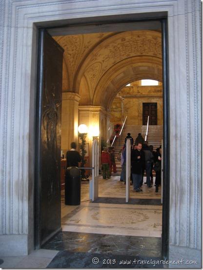 Boston Public Library main entrance