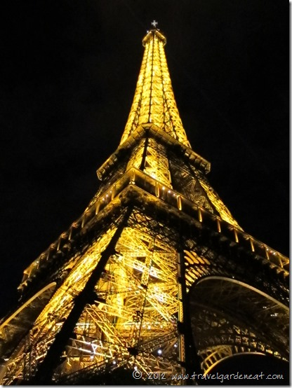 eiffel night view