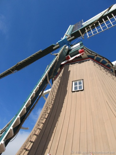 The windmill's sails