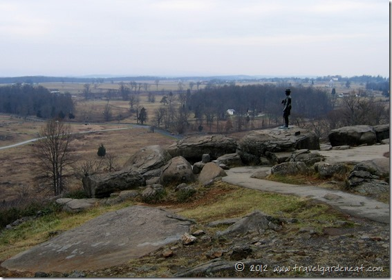 Little Round Top ~ Gettysburg National Military Park, Pennsylvania