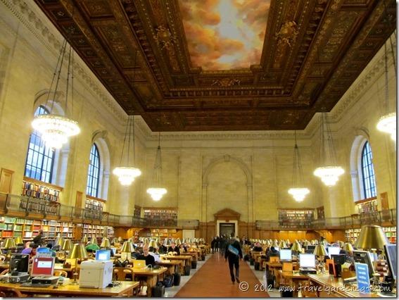 New York City Public Library ~ Rose Main Reading Room