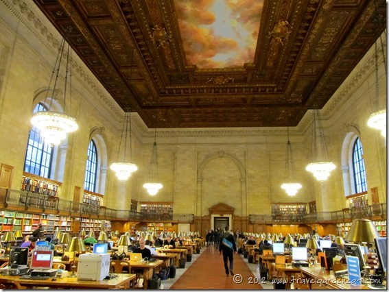 New York City Public Library ~ Rose Main Reading Room