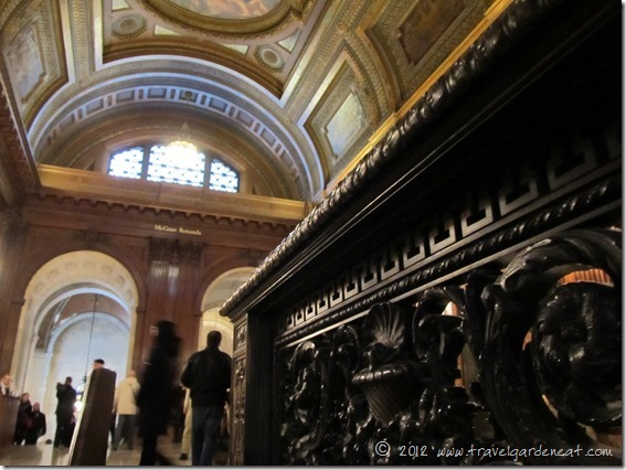 Looking into the McGraw Rotunda ~ New York Public Library