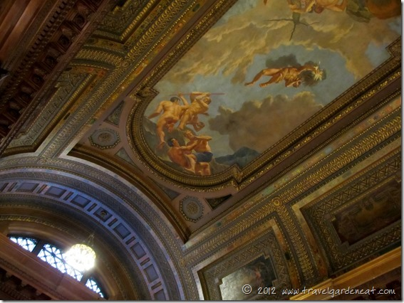 McGraw Rotunda ceiling mural depicting the Greek myth of Prometheus