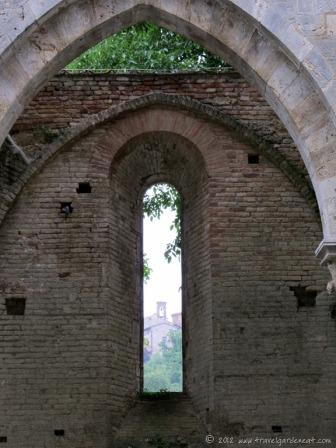Montesiepi Chapel from San Galgano