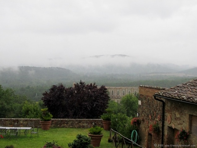 View from the Montesiepi Chapel