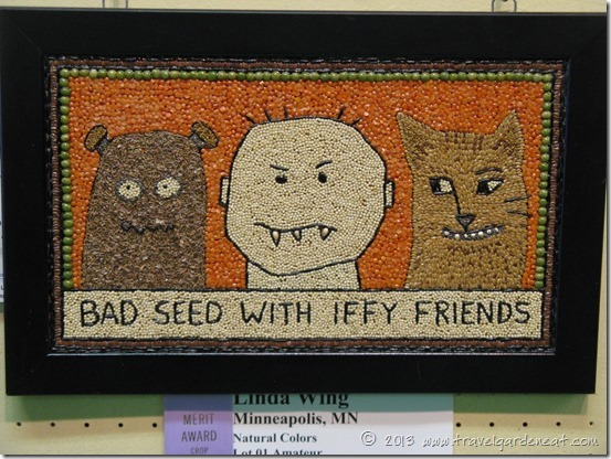 Crop art from the 2010 Minnesota State Fair