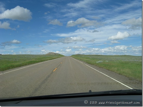 Entering the North Dakota Badlands