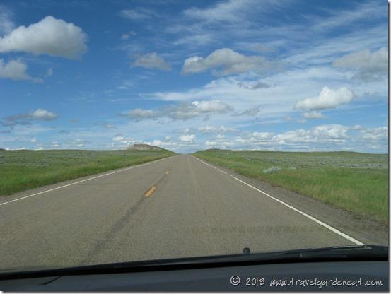 Entering the North Dakota Badlands