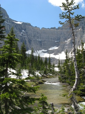 Iceberg Lake amphitheater