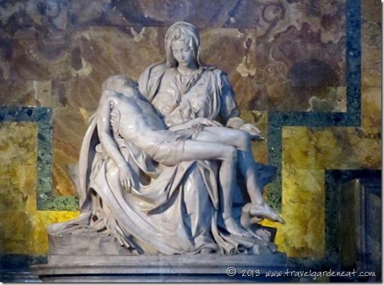 Michelangelo's Pieta ~ St. Peter's Basilica, Vatican City