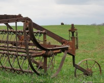 Spring plowing has begun