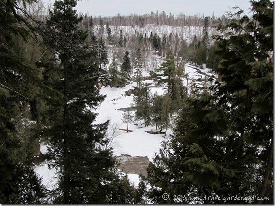 Gooseberry Falls overlook trail