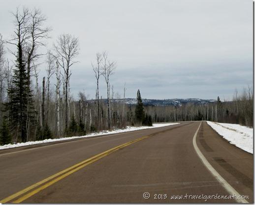 Minnesota's Sawtooth Range in the distance