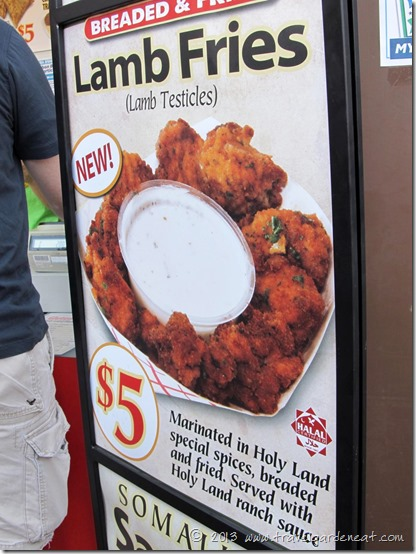 One of many unique food offerings at the 2012 Minnesota State Fair