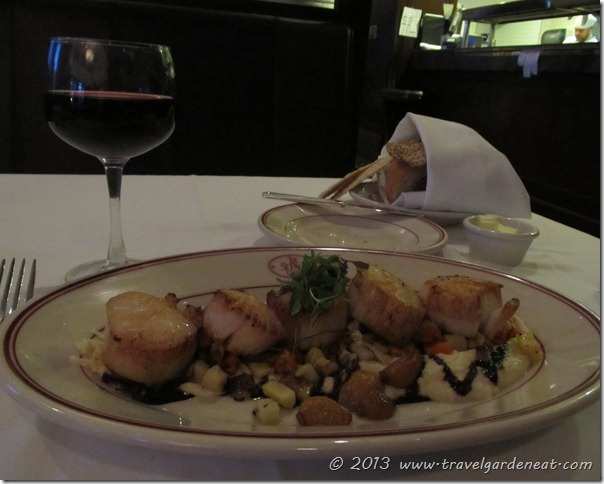 Scallops at The Saint Paul Grill