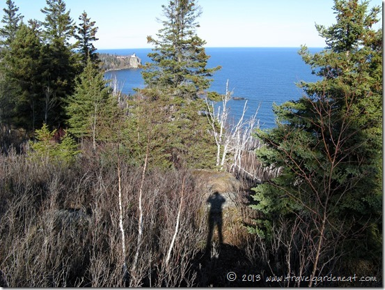 Split Rock Lighthouse from Day Hill Overlook
