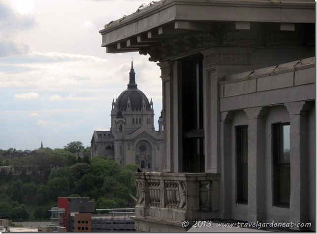 View of the Cathedral of Saint Paul from The Saint Paul Hotel