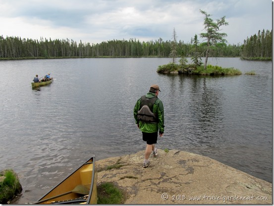Another BWCA portage successfully navigated.