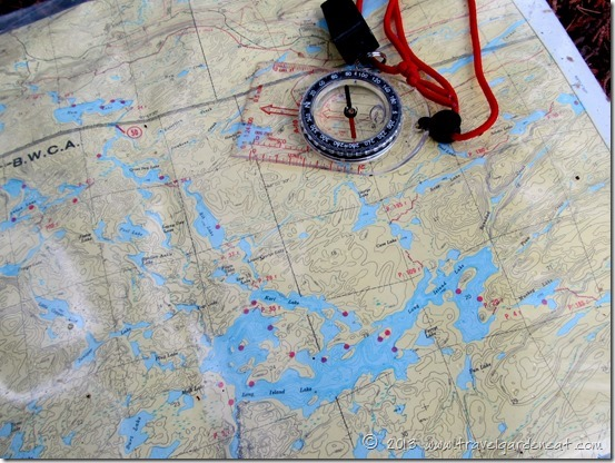 BWCA map