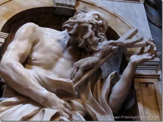 Bernini's St. Jerome ~ Chigi Chapel, Duomo of Siena, Italy