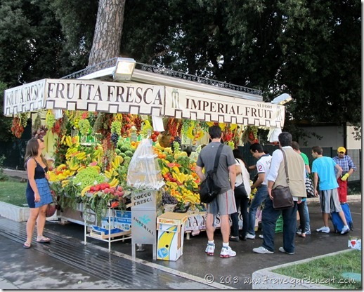 Rome fruit stand