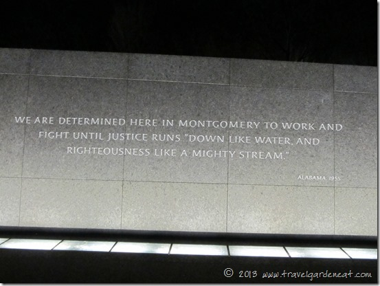 Fight until justice runs down like water