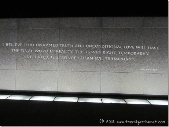 Unarmed truth and unconditional love