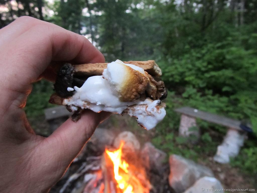 Smores And A Campfire